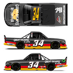 Jake Griffin Returns to the Truck Series at Knoxville Raceway