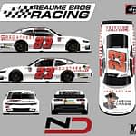 Natalie Decker Joins RSS Managed By Reaume Brother Racing Inc for five races in the NASCAR Xfinity Series with Red Street Records